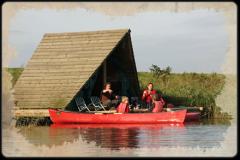 Op de grens van Noord-Brabant en Zeeland ligt het plaatsje de Heen. Hier ligt de bakermat van de kampeervlotten.