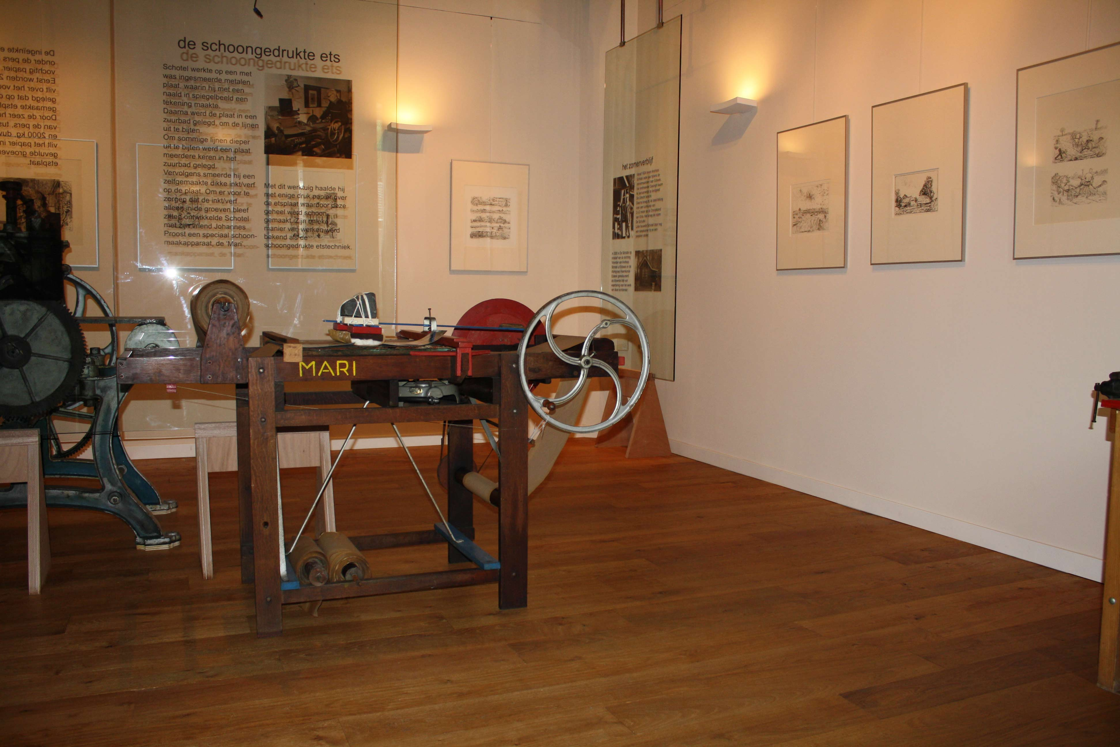 In mei 2009 is het Andreas Schotel museum geopend. Het is gevestigd in het pand van café Schuttershof aan de Dorpsstraat in Esbeek.
