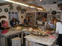 Atelier Groenseizoen Groendecoraties workshop