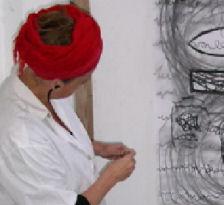 Beeldend kunstenaar Hendrien Workshop zelfsturend tekenen en schilderen