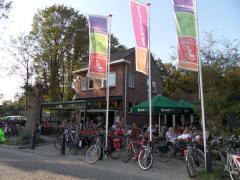 Gezellig fietscafé aan de rand van Tilburg, nabij Moerenburg.