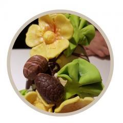 Creatief en Lekker Chocolade Workshop  Paasei met Eitjes