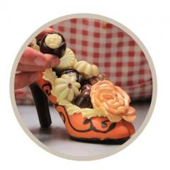 Creatief en Lekker Chocolade Workshop High Heels