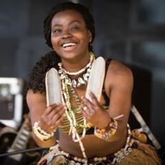 Cynthia Gabla  Afrikaanse dansworkshop