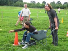 Voor een leuke dag kunt u gebruik maken van een of meerdere van onze Boerenspellen.