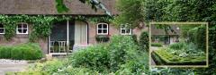 De oude Schouten Hofstad is een Brabantse langgevelboerderij waarvan het verbouwde voormalige stalgedeelte het gastenverblijf vormt.