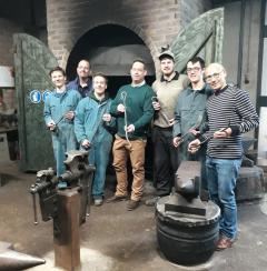Tijdens de workshop Smeden gaat u aan de slag met vuur, hamer en aambeeld. Een ervaring om nooit te vergeten.