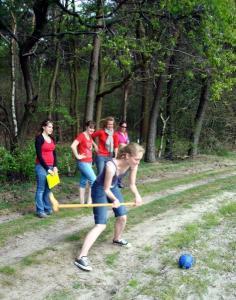 Boerengolf is geschikt voor alle leeftijden! Dus voor jong èn oud. Lekker sportief bezig zijn in de buitenlucht.