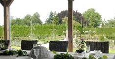 Onze Rozentuin bestaat uit en witte Rozentuin, een rood/gele Rozentuin en een paars/roze Rozentuin.