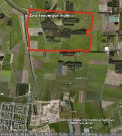 Het gebied de Berk is 35 ha groot.