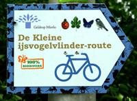 De gemeente Geldrop-Mierlo heeft ism het IVN van Geldrop en Mierlo een fietstocht uitgezet met speciale aandacht voor de kleine ijsvogelvlinder.