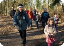 Natuurgebied 't Sang en Goorkens aan 't Voortje. Sinds 1987 is 't Sang een Nederlands bosreservaat van 15 ha groot.