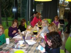 In het paviljoen van het Museum Jan Heestershuis ben je welkom voor een bijzonder kinderfeestje