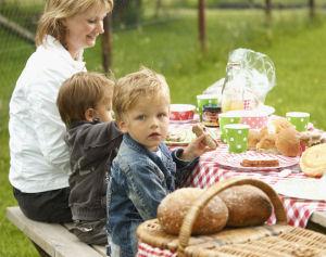 U krijgt dan een goed gevulde picknickmand mee, waarvan u de inhoud kunt nuttigen in de wei,