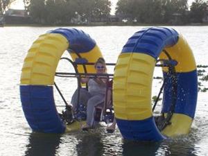 Voor de waterratten onder ons. 2 tegen 2, wie gaat er nat op het water?