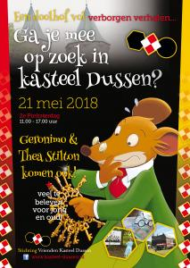 Tweede pinksterdag – doet kasteel Dussen zeker weer mee met de Landelijke dag van het Kasteel. Een geweldig dagje uit met het hele gezin.