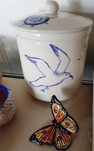Keramisch atelier De Hei Keramiek beschilderen met echte glazuur