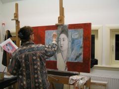 Marlies Vonk Workshop Tekenen, Schilderen Ontwerpen