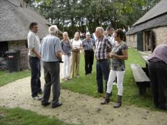 Je begint met een film over het leven van alledag in Brabant anno 1900. Daarna volgt een rondleiding door een authentiek ingerichte boerderij.