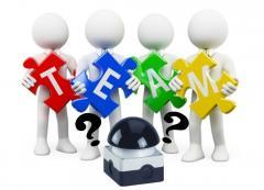 Teamuitje met spannende interactieve beamer quiz