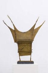 Ria Franc beeldend kunstenaar Wasmodel voor bronzen beeld workshop