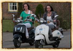 Nostalgische scooterrit