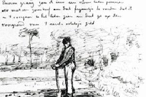 Mislukt als kunsthandelaar, onderwijzer en prediker arriveert Vincent van Gogh in Etten.