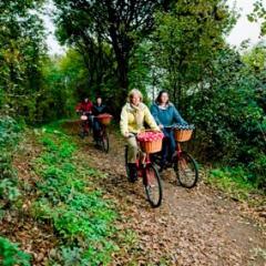 Al jaren wordt gerestaureerd aan de unieke vestingwallen van 's-Hertogenbosch. Reden om een aantal zeer bijzondere fietstochten uit te zetten.