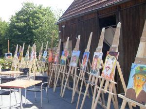 Workshop schilderen als Van Gogh