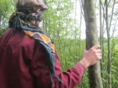 Naast de ruik- proef- en doe-workshops biedt Wandeloogst ook een workshop natuur beleven aan.
