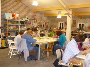 Wilink Creatief Workshop creatieve materialen