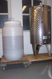 Winery & Herbs Lezing Wijn maken en rondleiding wijnmakerij