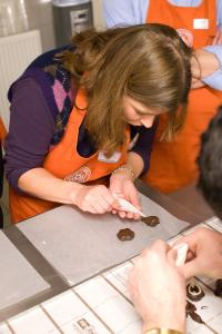Winters chocolaterie Workshop bonbons maken